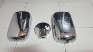 Toyota dyna euro 5 chrome mirror cover
