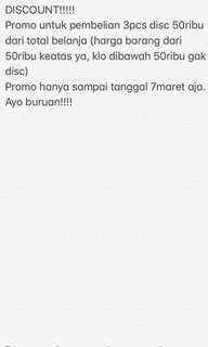 Promo!!!!!