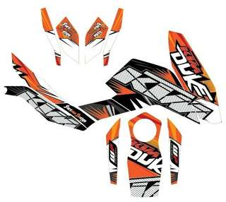 KTM duke decal