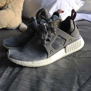 Grey adidas nmd U.K. 5 us 6.5