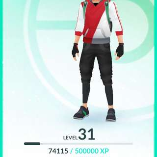 Level 31 With 550k Stardust !
