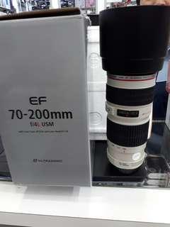 Canon EF 70-200mm F/4L Usm EF mount