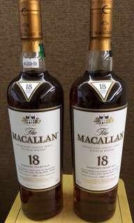 Macallan 18年