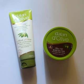 Dalan Olive Oil Body Treatments
