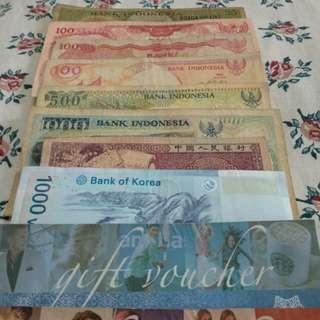 Uang Rupiah Cetakan Lama