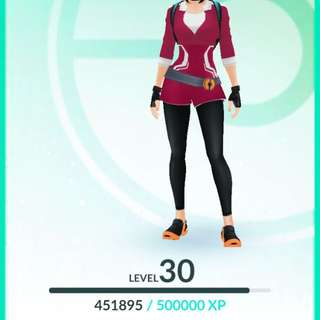 Level 30 With 500k Stardust !