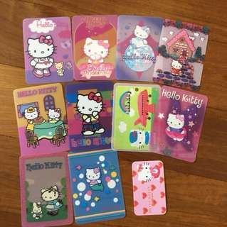 Hello kitty gift cards