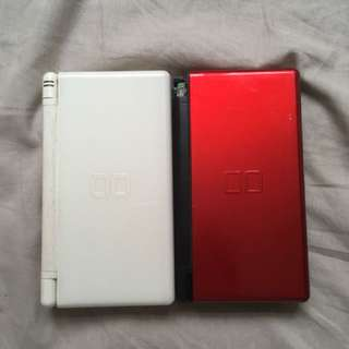 NDS (WHITE/BLACK+RED)