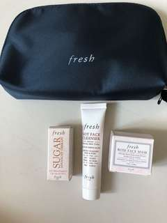 Fresh: Mini travel kit set