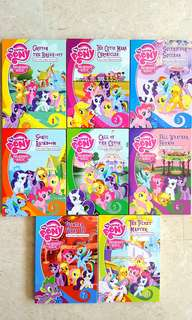 8x My Little Pony (MLP) FULL SET Educational Entertainment DVDs