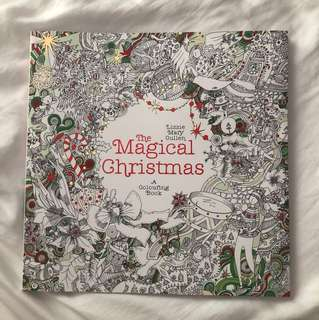 🌹The Magical Christmas Colouring Book