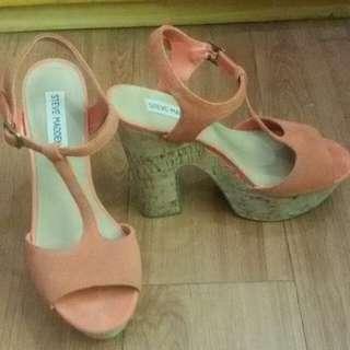 Original Steve Madden Orange Shoes