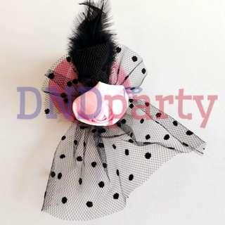 Pink Mini Cocktail Hat
