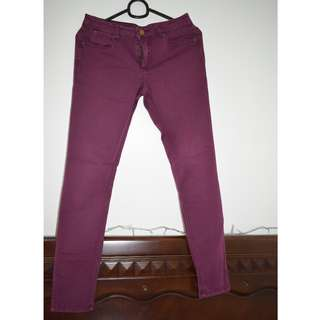 Forever21 Slim Pants (Stretchable)