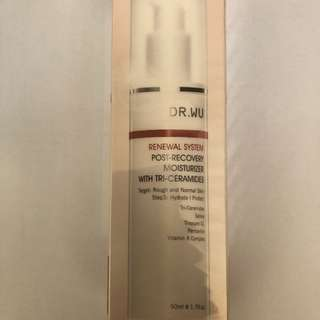 DR. WU Renewal System Post-Recovery Moisturizer with Tri-Ceramides