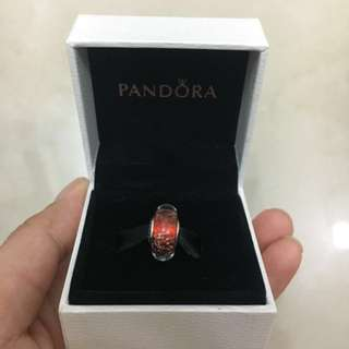 Authentic pandora charm glass
