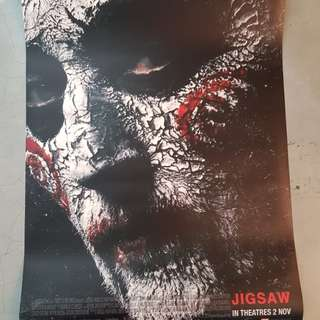 Jigsaw Cinema grade Poster