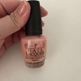 OPI Light Pink/ beigh Nail Colour
