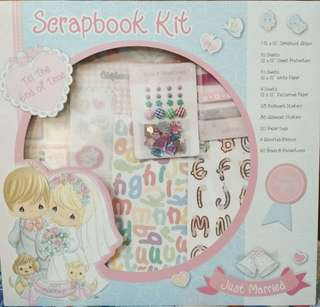 Scrapbook kit-Just Married