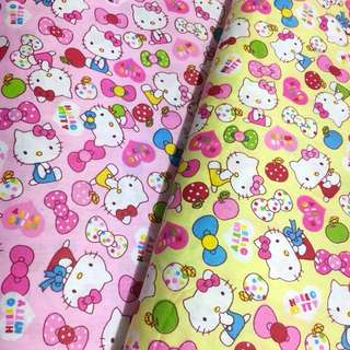 Kitty Quality 100% cotton baby fabric/kain diy cotton cloth