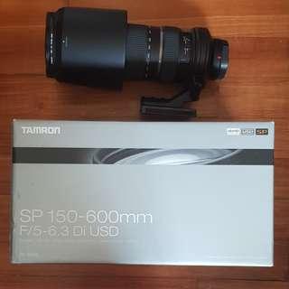 A-mount Tamron 150-600mm