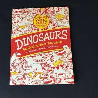 Dinosaurs doodle