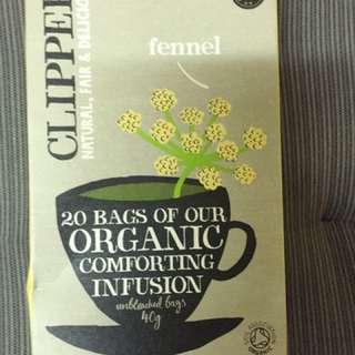 clipper 有機花茶 茶包 20包