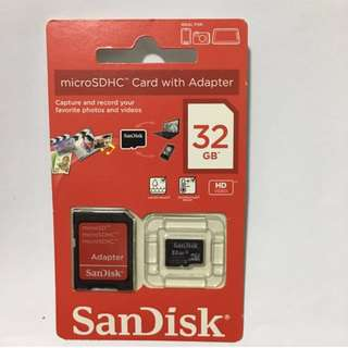 Micro SDHC Card with adapter