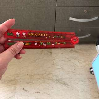 Hello Kitty Red Ruler