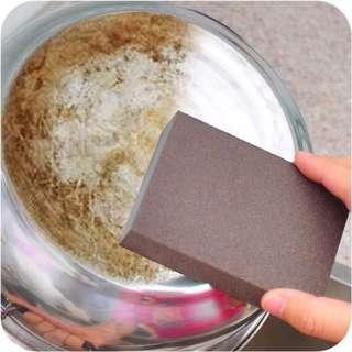 納米金剛砂神奇海綿擦 除污魔術清潔海綿 鍋底鐵銹魔力擦