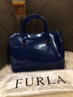 Authentic Furla Jelly doctor's bag with Dustbag