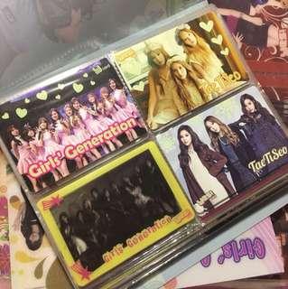 Girls' Generation 少女時代 Yes Card 膠卡