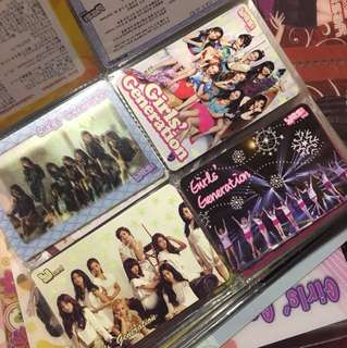 Girls' Generation 少女時代 Yes Card 膠卡