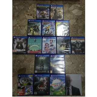 Bunch Of PS4 Games to Go! Read Description for price!
