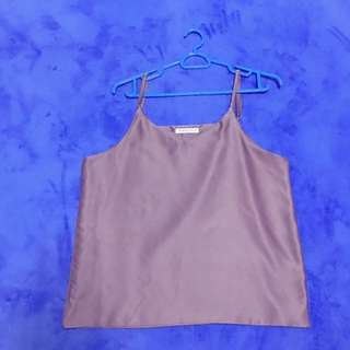 Camisole dusty pink satin