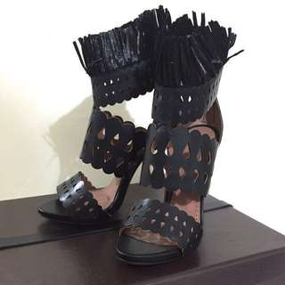 Alaia black heels shoes