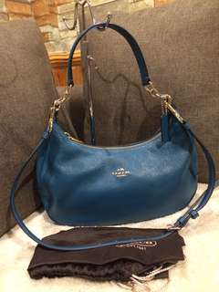 Authentic Coach Two Way leather with Dustbag