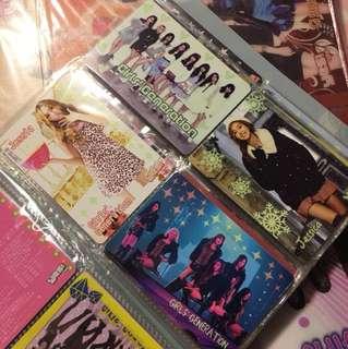 Girls' Generation 少女時代 Jessica Yes Card 膠卡