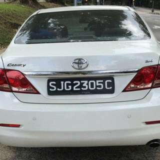 Toyota Camry 2.4L  Automatic       -(SG)-  Year 2008