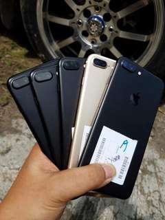 Iphone 7plus 128gb like new fullset inter termurah