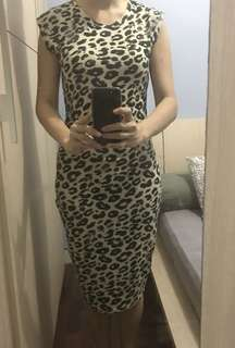 Dress leopard Zara