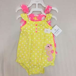 Carter's playwear 2 pc romper