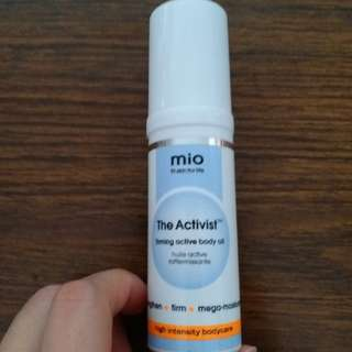 Mio the activist firming active body oil 30ml