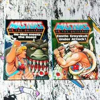 Ladybird Masters of The Universe Books