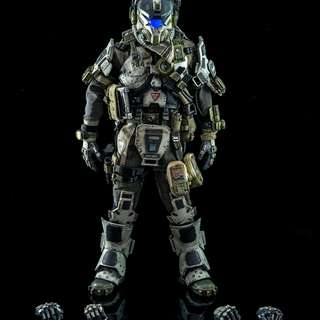 Three Zero - Titan Fall - I.M.C Battle Rifle Pilot (1/6 Scale Figure)