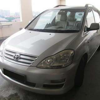 Toyota IPSUM 2.4L 4-Speed Automatic       -(SG)-  Year 2008