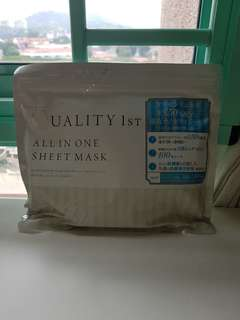 Quality 1st All-In-One Daily Sheet Masks (Whitening)
