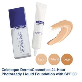 Celeteque 24Hr Liquid Foundation - natural