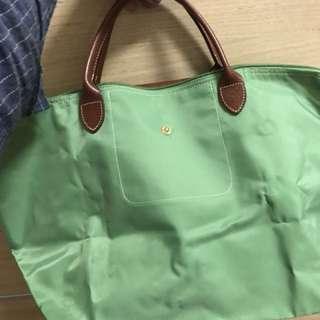 Longchamp青蘋綠 包包