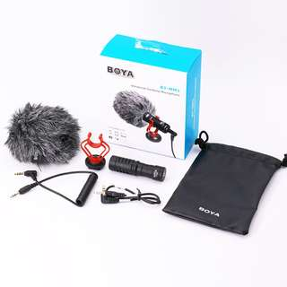 Boya BY-MM1 Shotgun Video Microphone